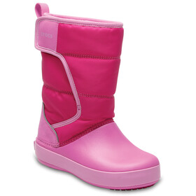 Crocs LodgePoint Snow Boot Kids Candy Pink/Party Pink